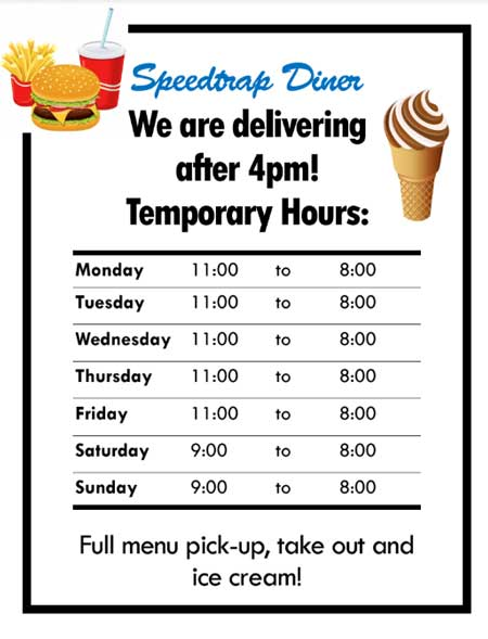 Temporary Hours and Delivery