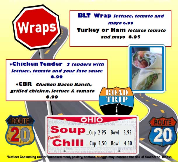 Wraps and Soups
